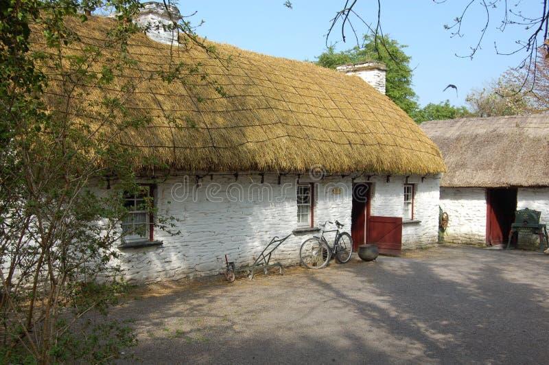 Cabaña irlandesa foto de archivo