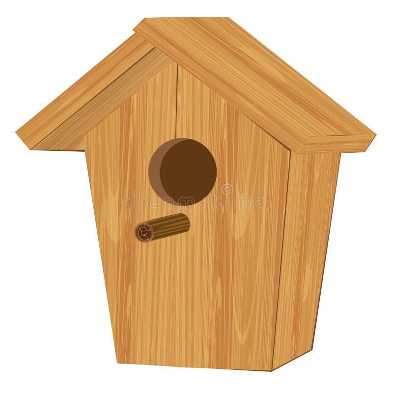 Cabaña para los pájaros libre illustration