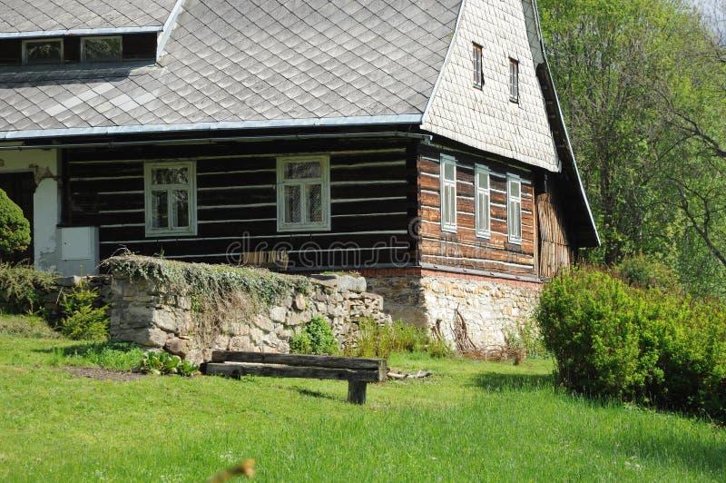 Cabaña rural foto de archivo