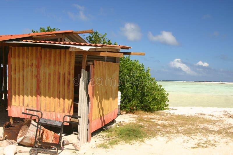 Cabaña tropical imágenes de archivo libres de regalías