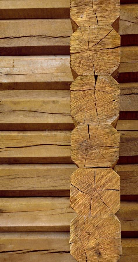 Cabañas de madera de haces fotos de archivo libres de regalías