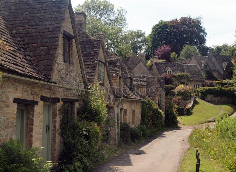 Cabañas inglesas tradicionales, Gloucestershire fotos de archivo libres de regalías