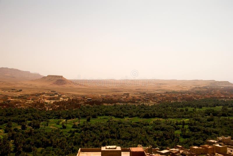 Cabah in the border of Sahara royalty free stock photos
