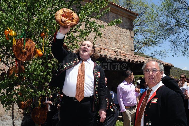 caballada宴餐la西班牙 免版税图库摄影