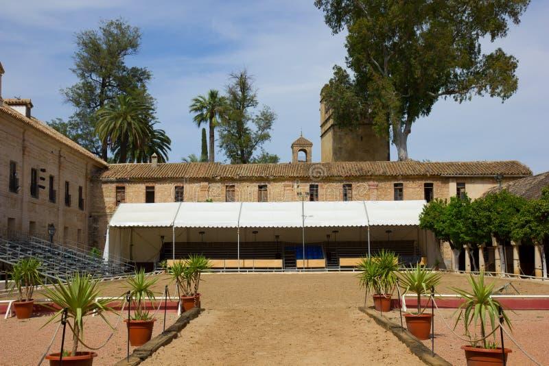 Caballerizas Reales, Cordoba, Spain royalty free stock image
