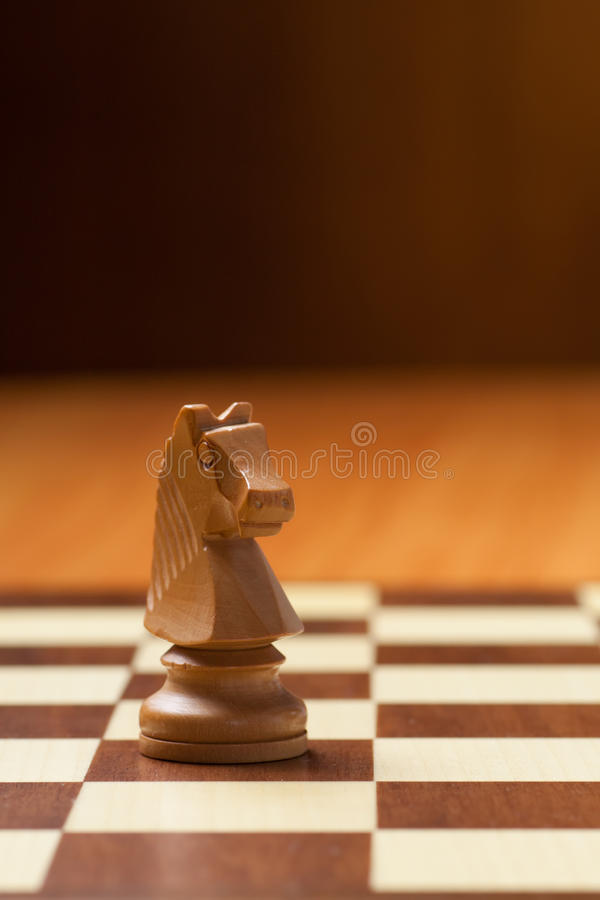 Caballero Chess foto de archivo