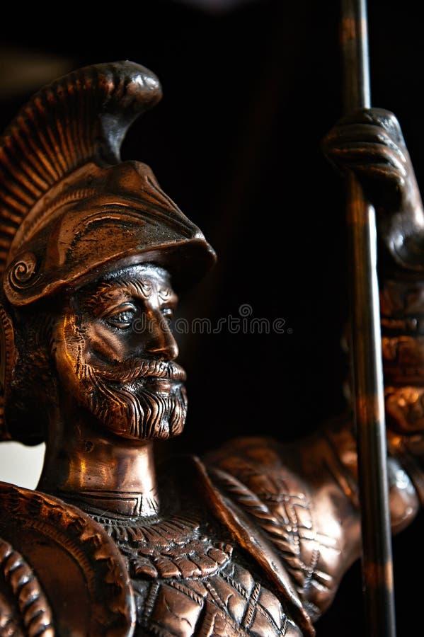 Caballero de bronce imagenes de archivo