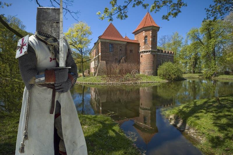 Caballero medieval fotografía de archivo