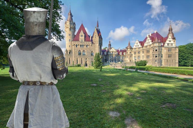 Caballero medieval fotos de archivo libres de regalías