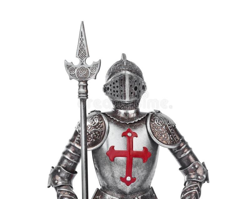 Caballero medieval del juguete fotos de archivo libres de regalías