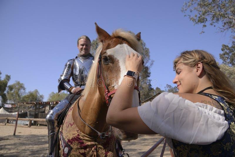 Caballero Rider fotos de archivo