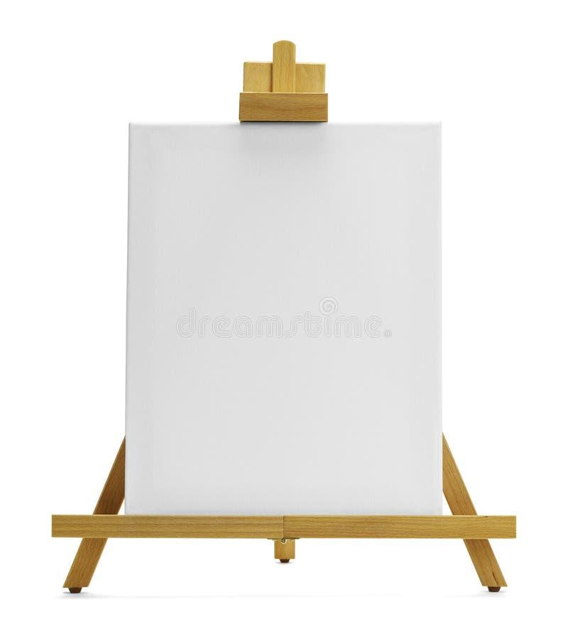 Caballete de la pintura fotografía de archivo libre de regalías