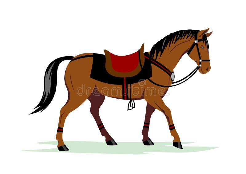 Caballo stock de ilustración