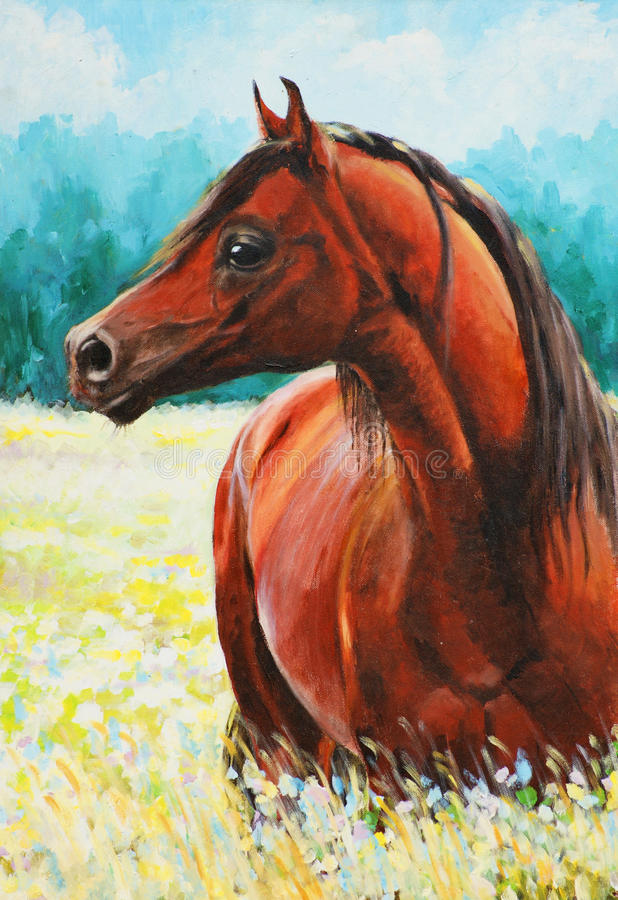 Caballo libre illustration