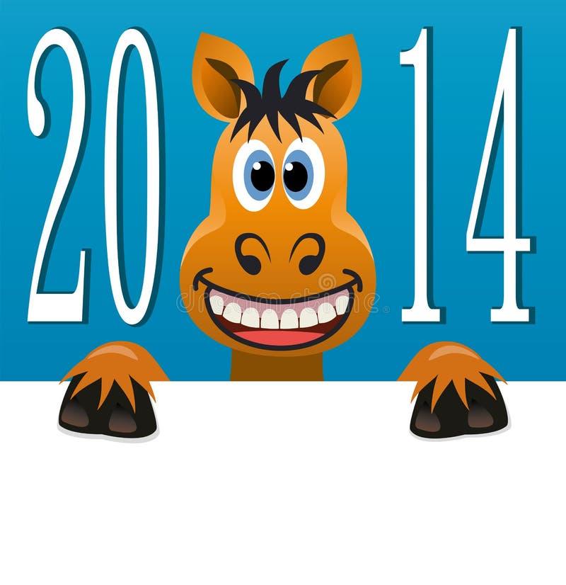 Caballo del Año Nuevo libre illustration