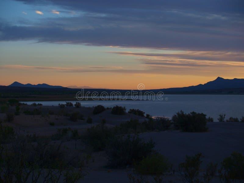 Download Caballo Lake Glow Stock Photo - Image: 51881229