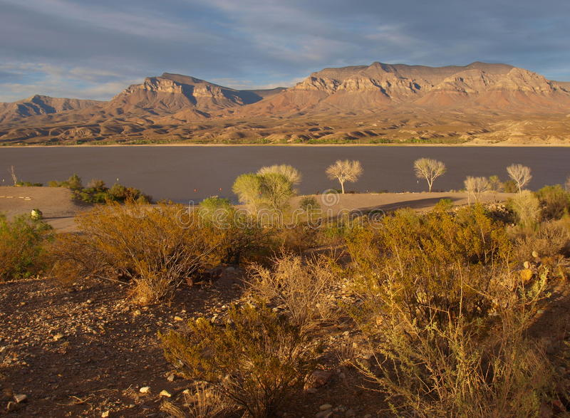 Download Caballo Lake Sunset Stock Photo - Image: 52300354