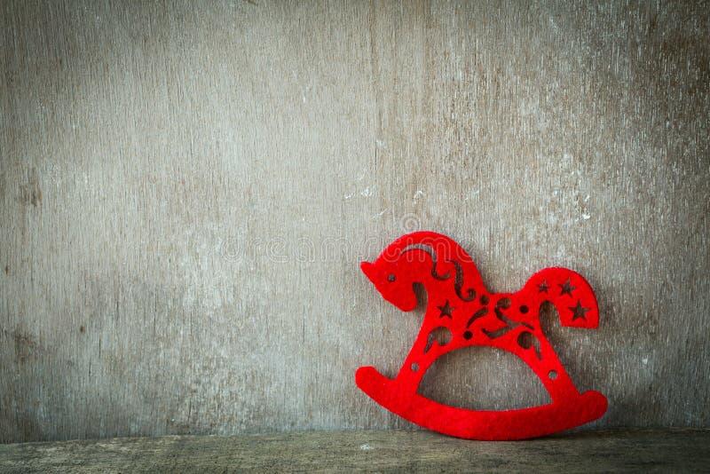 Caballo rojo - Año Nuevo 2014 imágenes de archivo libres de regalías