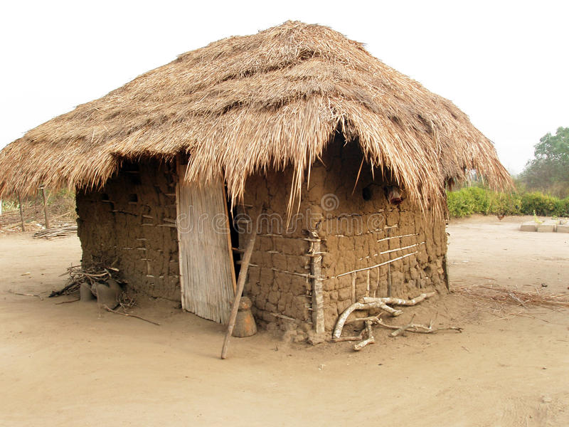 Cabana africana fotos de stock royalty free