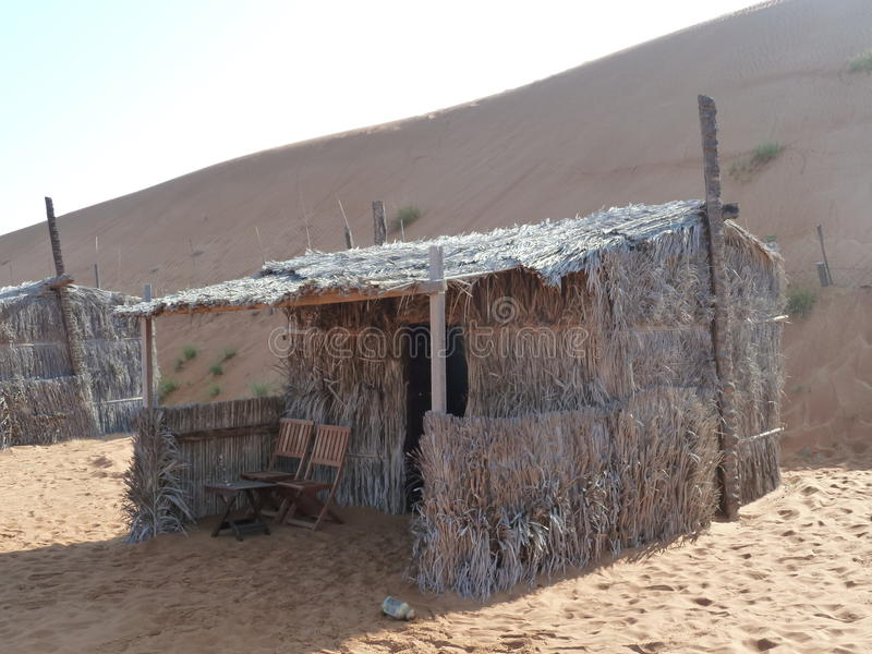 Cabana da palha imagem de stock