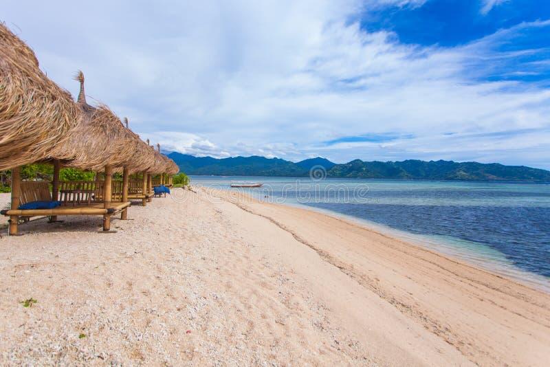 Download Cabana de bambu foto de stock. Imagem de secluded, relaxation - 29831580