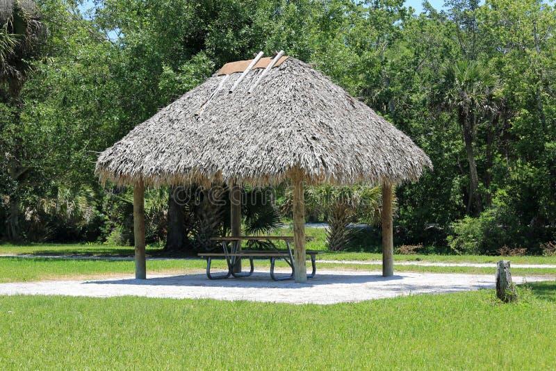 Cabana de Chickee imagens de stock royalty free