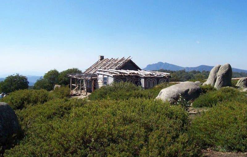 Cabana de Craigs fotografia de stock