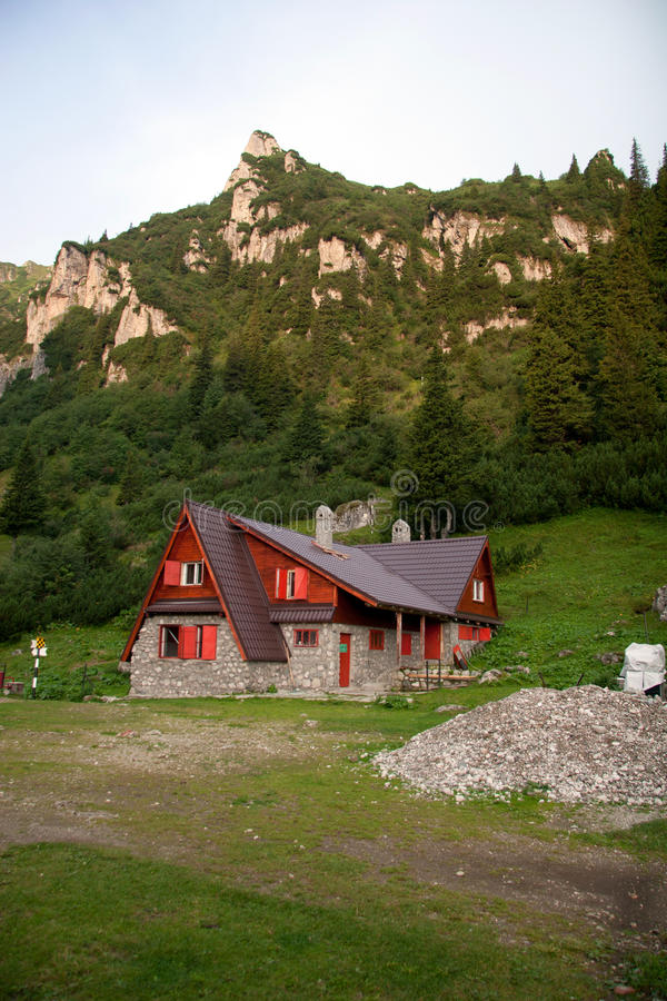 Cabana de Malaiesti fotografia de stock