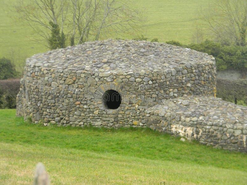 Cabana de pedra: Irlanda imagem de stock