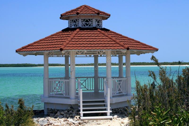 cabana morze zdjęcie stock