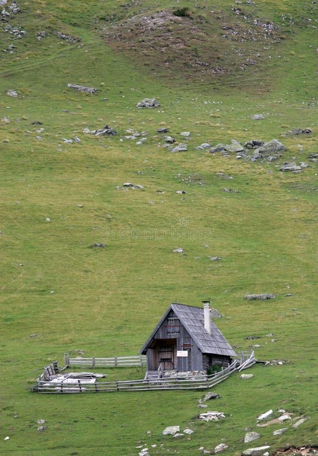 Cabana pastoral imagem de stock