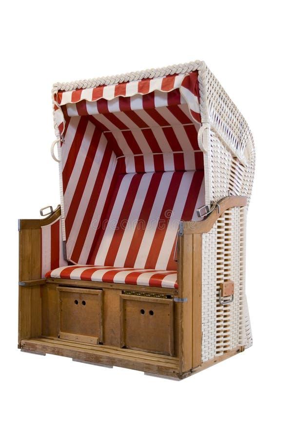 cabana plażowy krzesło zdjęcie stock