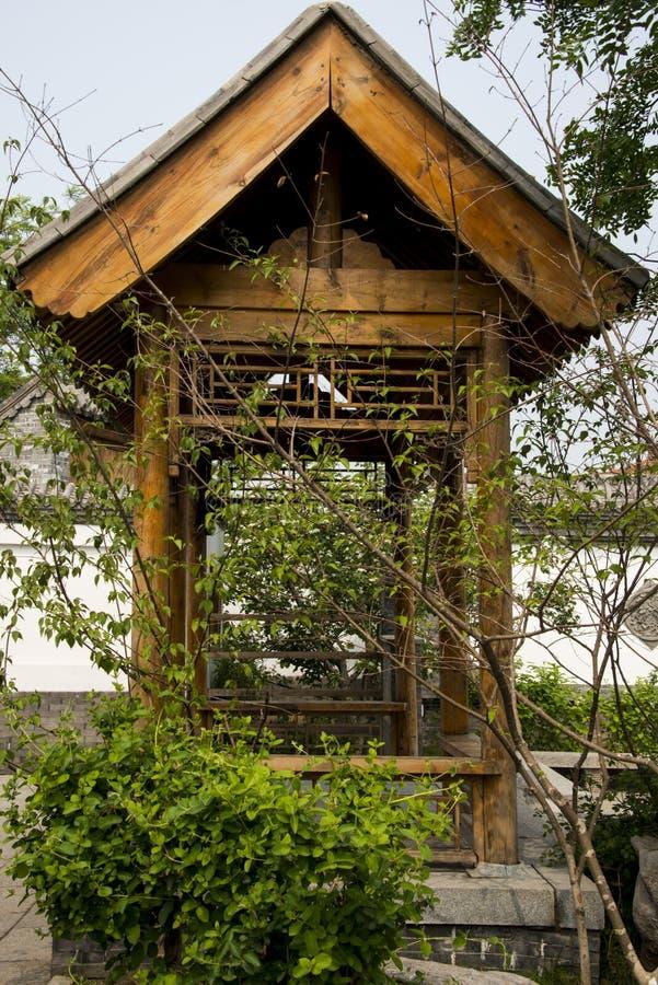 Cabana rústica de madeira fotografia de stock