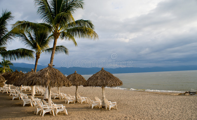 Cabanas foto de stock royalty free