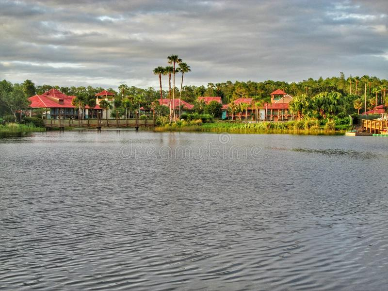Cabanas bij de Coronado-Wereld Orlando Florida van Disney van de de Lentestoevlucht royalty-vrije stock fotografie