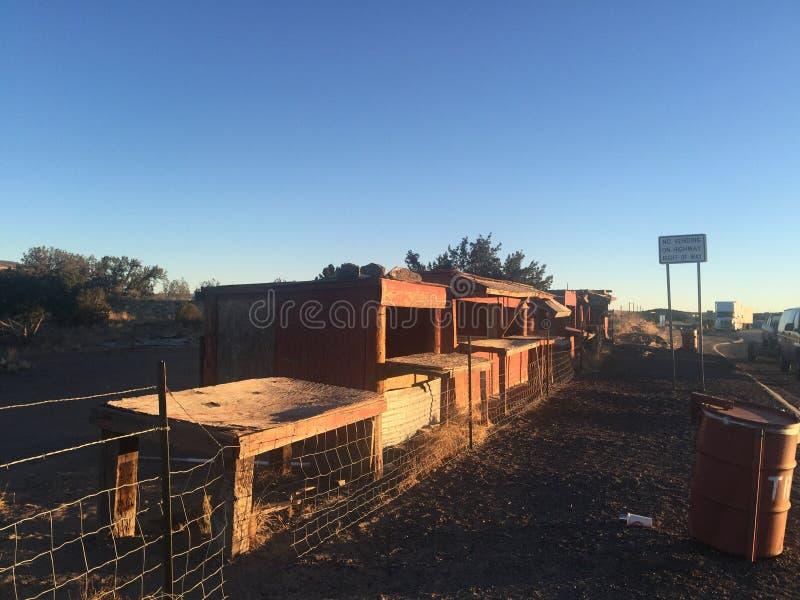 Cabanas do Arizona imagens de stock royalty free