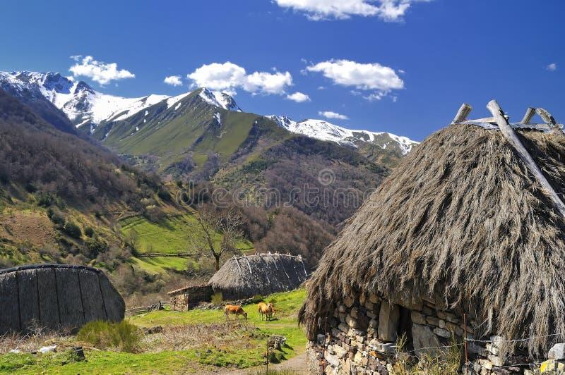Cabanas dos pastores. imagem de stock