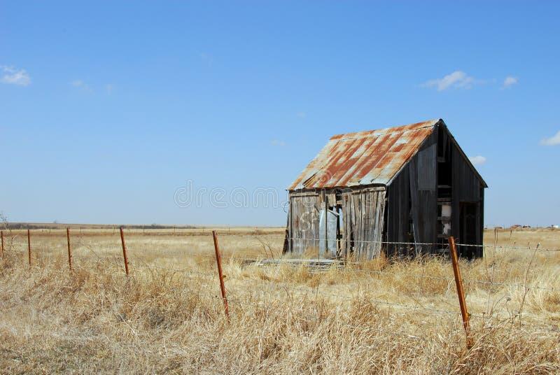 Cabane abandonnée images libres de droits
