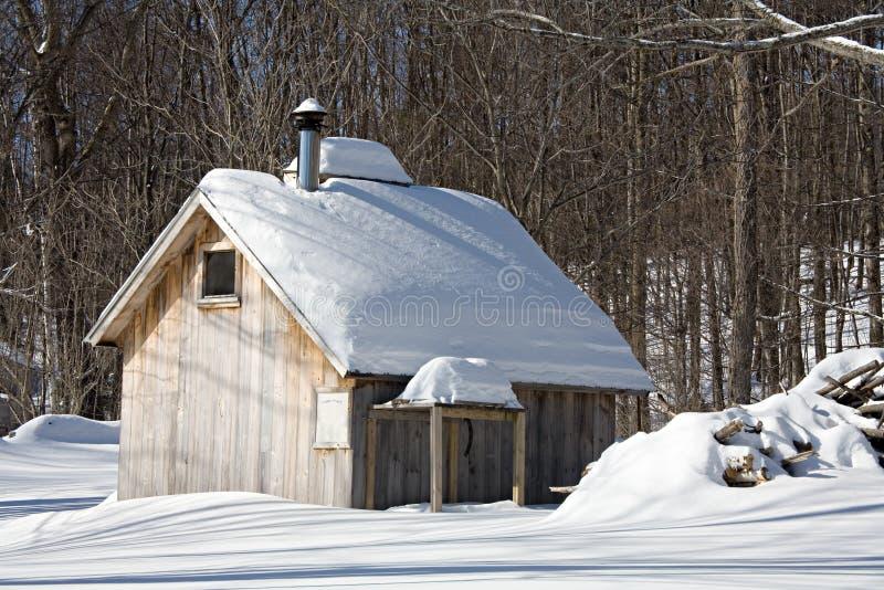 Cabane de sucre photo libre de droits