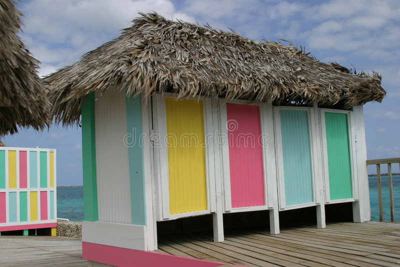 cabanna karaibów fotografia stock