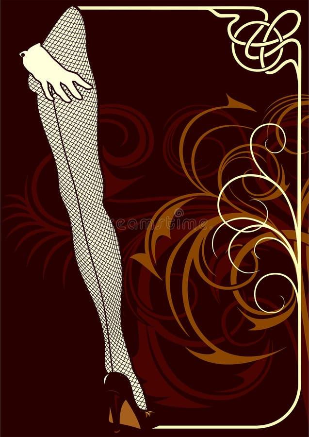 Cabaret vector illustratie