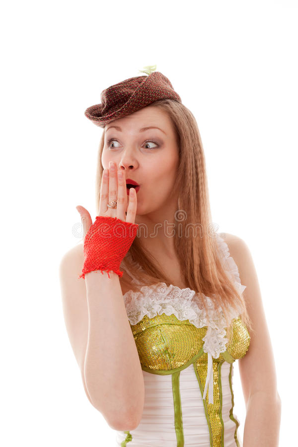 Download Cabaret girl stock image. Image of person, cabaret, nice - 20039943