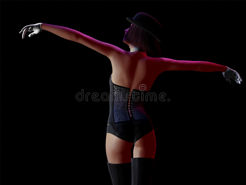 Download Cabaret Girl Royalty Free Stock Photography - Image: 8887597