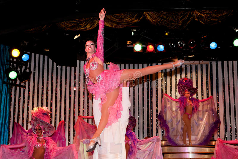 Cabaret Parisien in Havana royalty-vrije stock foto
