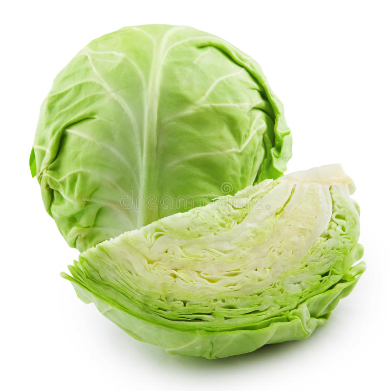 Free Cabbage Isolated Royalty Free Stock Photo - 20457015
