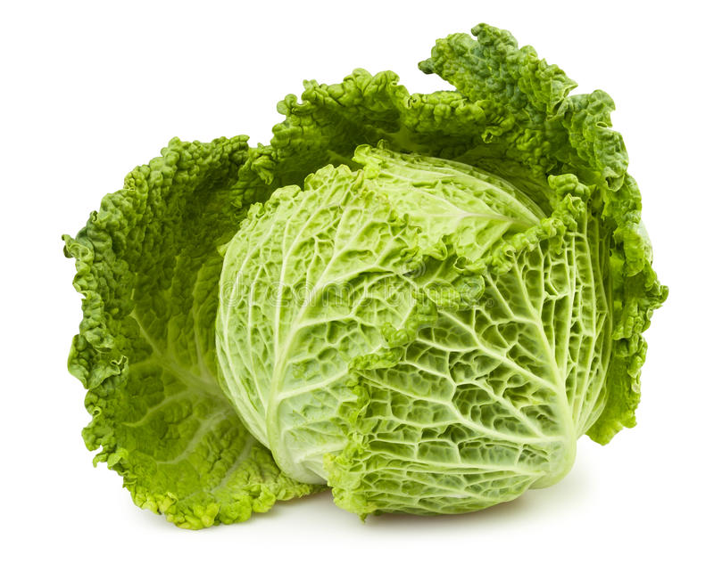 Cabbage one royalty free stock photo
