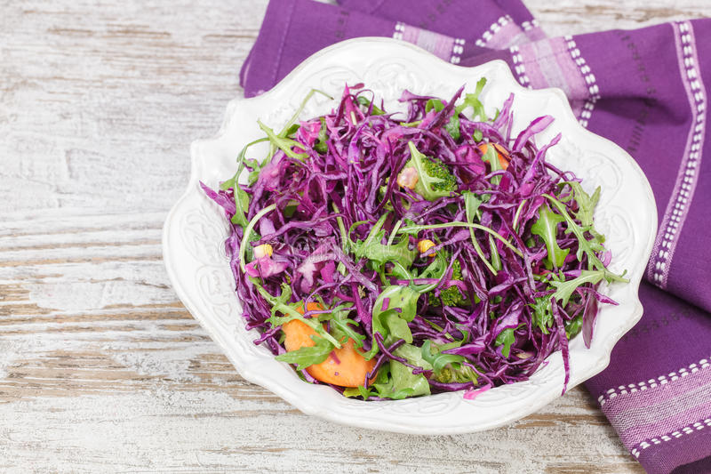 Cabbage salad royalty free stock image