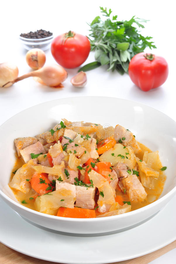 Download Cabbage soup stock image. Image of fresh, calorie, eating - 21187567
