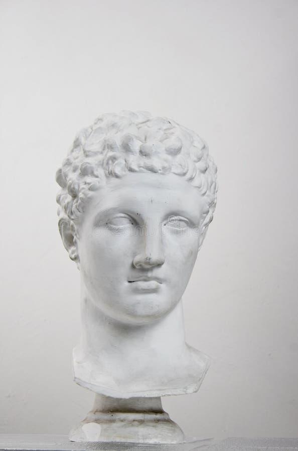 Cabeça da estátua fotografia de stock royalty free