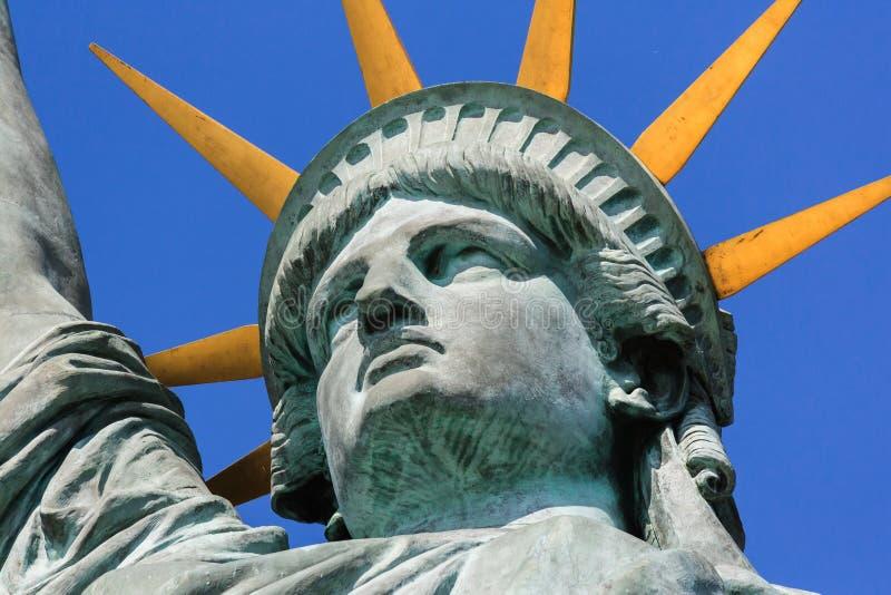 Cabeça da estátua da liberdade imagem de stock royalty free